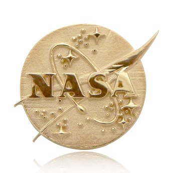 Gold NASA Meatball