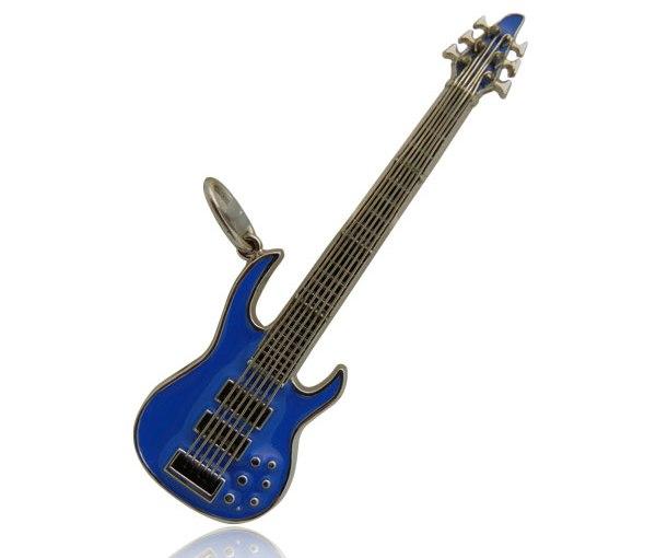 Replica 6 String Bass GuitarPendant